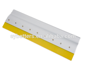Aluminum Handle Green/Blue Squeegee For Screen Printing