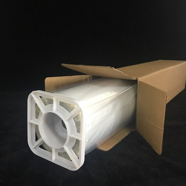 50''x30m(1.27mx30m)-Waterproof Milky Inkjet PET Film